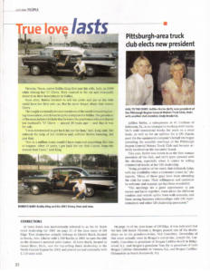 57 Chevy Article